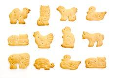 Galletas animales Imagen de archivo