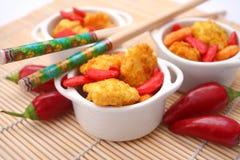 Galletas asiáticas del arroz Imagen de archivo libre de regalías