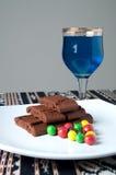 Galletas con la bola de los caramelos Imagenes de archivo