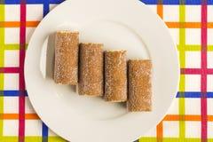 galletas Crema-llenadas Fotografía de archivo libre de regalías