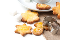 Galletas de azúcar Foto de archivo