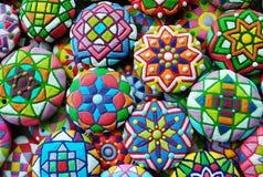 Galletas de azúcar adornadas Fotografía de archivo
