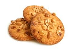 Galletas de azúcar con los cacahuetes Imagen de archivo libre de regalías