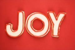 Galletas de azúcar de la alegría. Foto de archivo