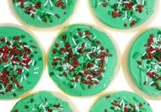 Galletas de azúcar de Navidad Imagenes de archivo