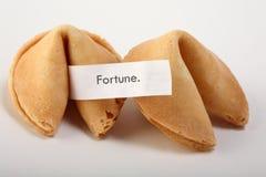 Galletas de fortuna Imagenes de archivo