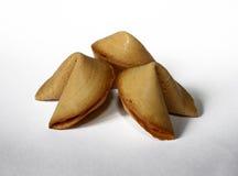 Galletas de fortuna chinas Imagen de archivo