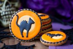 Galletas de Halloween Fotografía de archivo