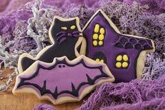 Galletas de Halloween Fotos de archivo libres de regalías