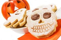 Galletas de Halloween Imagen de archivo libre de regalías