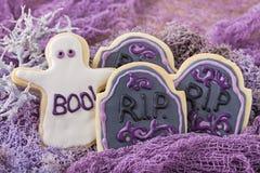 Galletas de Halloween Foto de archivo libre de regalías