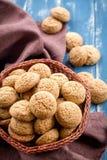 Galletas de harina de avena Fotos de archivo