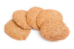 Galletas de harina de avena del cereal Imagenes de archivo