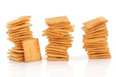 Galletas de la galleta del queso Fotos de archivo libres de regalías