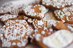 Galletas de la mantequilla de la torta dulce Imagen de archivo libre de regalías
