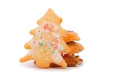 Galletas de la Navidad. Fotos de archivo