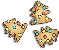 Galletas de la Navidad stock de ilustración