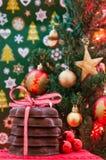 Galletas de la Navidad y del Año Nuevo Fotografía de archivo libre de regalías