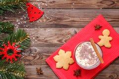 Galletas de la Navidad, yema el día de fiesta Imagenes de archivo