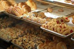 Galletas de la panadería fotografía de archivo libre de regalías