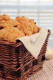 Galletas de la patata dulce Imagen de archivo libre de regalías