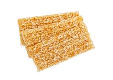 Galletas de la semilla de sésamo Foto de archivo libre de regalías