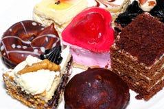 Galletas de la torta. Foto de archivo