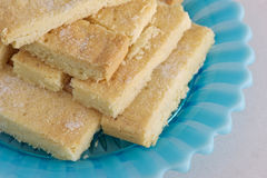 Galletas de la torta dulce Fotografía de archivo libre de regalías