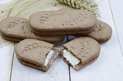 galletas de los Entero-granos Imagenes de archivo