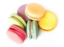 Galletas de Macaron del francés Fotos de archivo