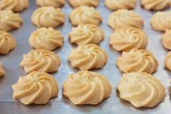 Galletas de mantequilla Imagenes de archivo