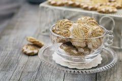 Galletas de mantequilla Imagen de archivo libre de regalías