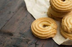 Galletas de mantequilla Fotos de archivo libres de regalías