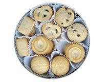Galletas de mantequilla danesas Imagen de archivo