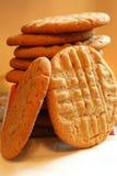 Galletas de mantequilla de cacahuete Imagen de archivo libre de regalías
