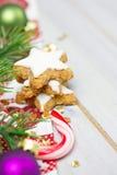 Galletas de Navidad imagen de archivo