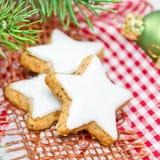 Galletas de Navidad fotos de archivo libres de regalías