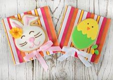 Galletas de Pascua Fotos de archivo libres de regalías