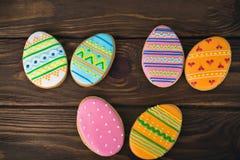 Galletas de Pascua, muchas pequeñas galletas fotografía de archivo