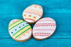 Galletas de Pascua, pequeña galleta tres Imagen de archivo