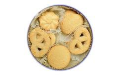 Galletas de torta dulce Fotografía de archivo libre de regalías