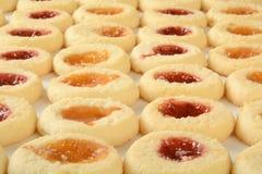 Galletas de torta dulce Imágenes de archivo libres de regalías