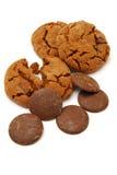 Galletas de viruta de chocolate Imagenes de archivo