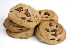 Galletas de viruta de chocolate Imagen de archivo libre de regalías