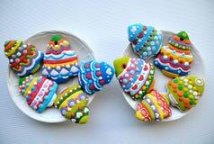 Galletas del árbol de navidad, galletas de la Navidad para los niños Imagenes de archivo