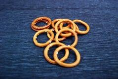 Galletas del anillo Fotos de archivo