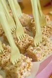 Galletas del arroz fotos de archivo