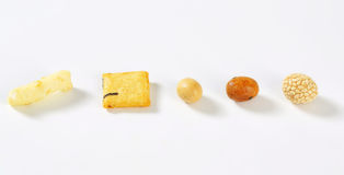 Galletas del arroz fotografía de archivo libre de regalías