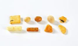 Galletas del arroz foto de archivo libre de regalías