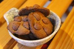 Galletas del cacao Fotos de archivo libres de regalías